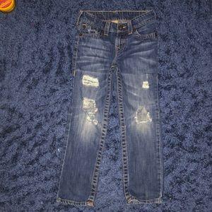 Little Boys Distressed True Religion Jeans